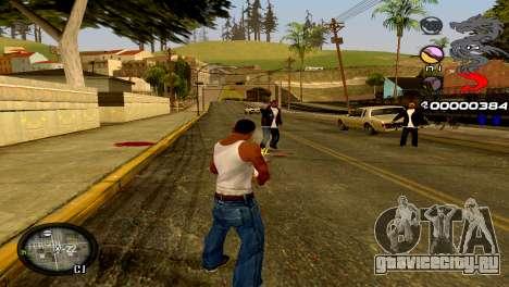 C-HUD Dragon для GTA San Andreas шестой скриншот