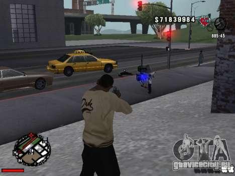 C-Hud OLD для GTA San Andreas второй скриншот