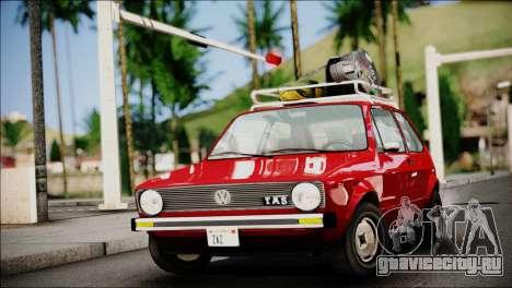Volkswagen Golf 1 TAS Sarajevo для GTA San Andreas
