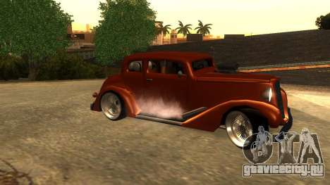 New Hustler для GTA San Andreas вид слева