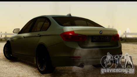 BMW 335i E92 2012 для GTA San Andreas вид слева