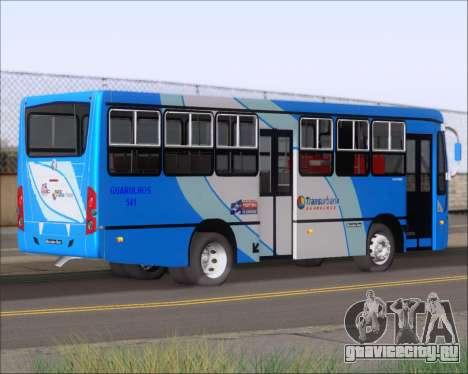 Caio Foz Super I 2006 Transurbane Guarulhoz 541 для GTA San Andreas вид справа