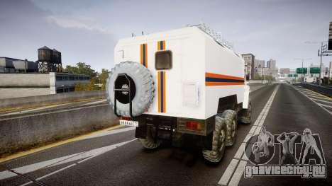 Урал 4320 МЧС для GTA 4