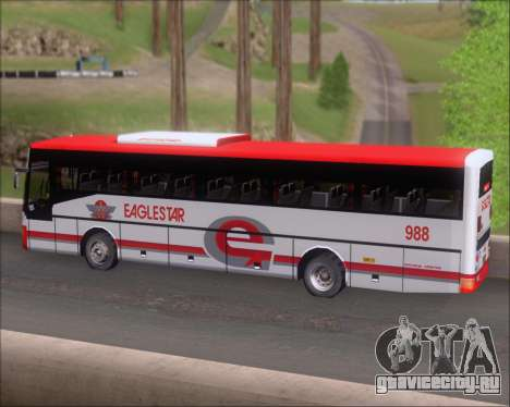 Nissan Diesel UD Santarosa EAGLESTAR 998 для GTA San Andreas вид сверху