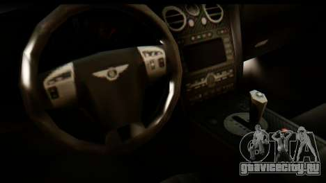 Bentley Continental VIP Stance Style для GTA San Andreas