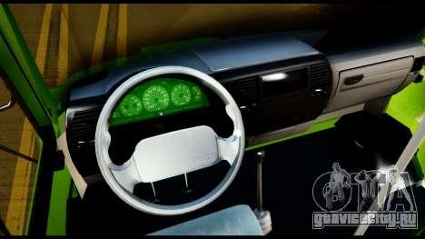 Iveco Minibus для GTA San Andreas вид сзади
