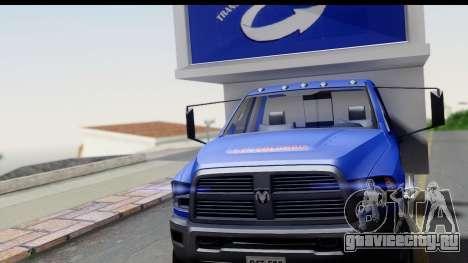 Dodge Ram 350 для GTA San Andreas вид справа