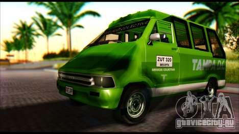 Toyota Microbus для GTA San Andreas