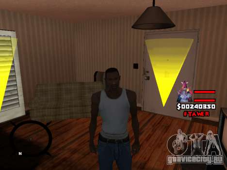 HUD by LokoMoko для GTA San Andreas четвёртый скриншот
