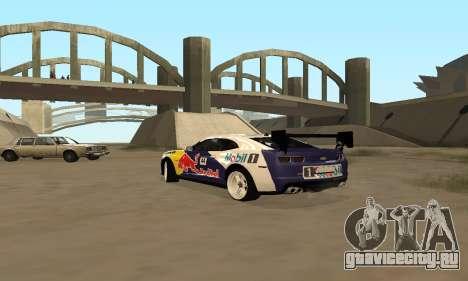 Chevrolet Camaro ZL1 RedBull для GTA San Andreas вид слева