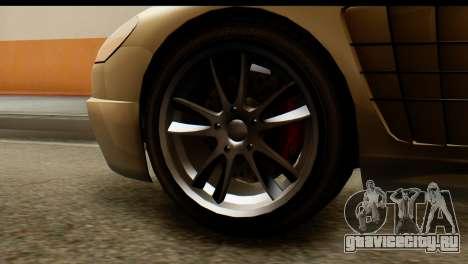GTA 5 Ocelot F620 v2 для GTA San Andreas вид сзади слева