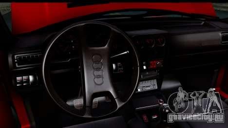 Audi Sport Quattro B2 (Typ 85Q) 1983 [IVF] для GTA San Andreas вид сбоку