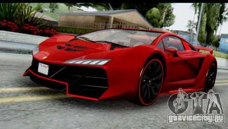 GTA 5 Pegassi Zentorno для GTA San Andreas