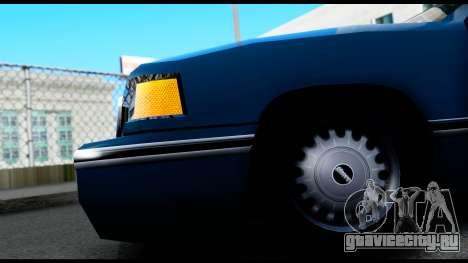 Elegant Station Wagon для GTA San Andreas вид сзади