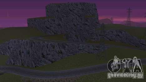 Озеленение пустыни для GTA San Andreas второй скриншот