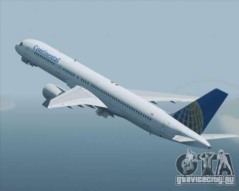Boeing 757-200 Continental Airlines для GTA San Andreas