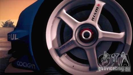 Nissan Skyline GTR-34 2003 для GTA San Andreas вид справа