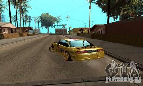 Nissan Silvia S14 NGK для GTA San Andreas вид слева