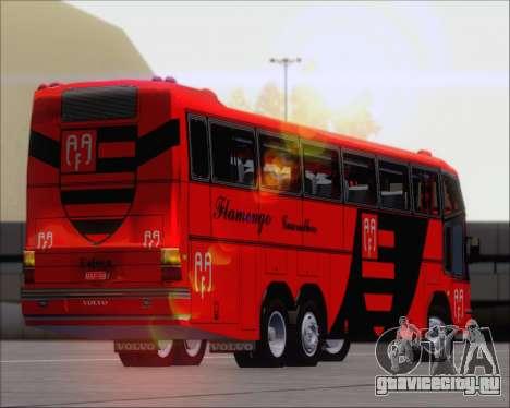Marcopolo Paradiso G4 Flamengo Guarulhos для GTA San Andreas вид изнутри
