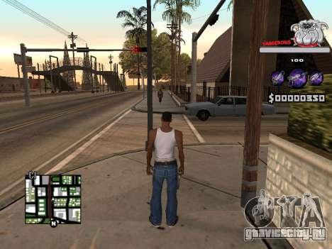 C-HUD by Sorel для GTA San Andreas