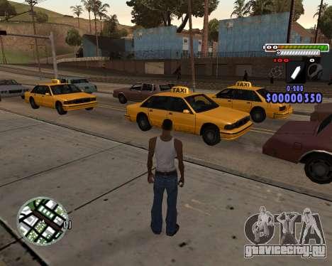 C-HUD by Adam для GTA San Andreas второй скриншот