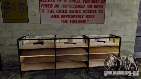 3D модели оружия в Ammu-nation для GTA San Andreas двенадцатый скриншот