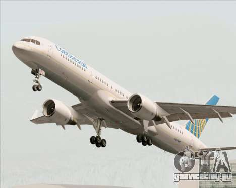 Boeing 757-200 Continental Airlines для GTA San Andreas колёса