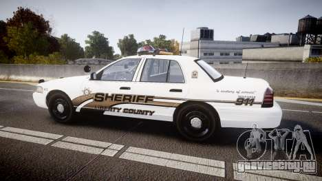 Ford Crown Victoria LCSO [ELS] Vision для GTA 4 вид слева