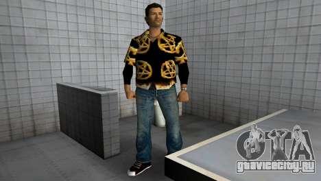 Pentagram Shirt для GTA Vice City третий скриншот