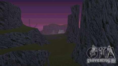 Озеленение пустыни для GTA San Andreas третий скриншот