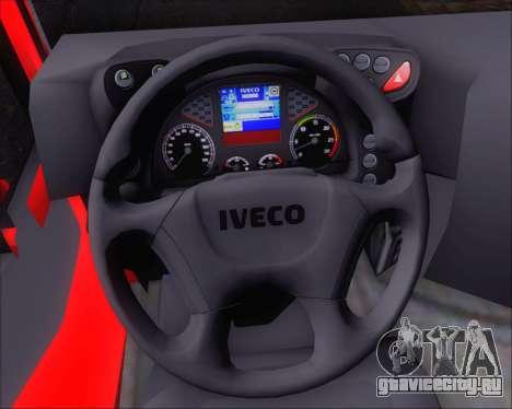 Iveco Stralis HiWay 8x4 для GTA San Andreas вид снизу
