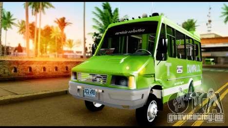 Iveco Minibus для GTA San Andreas вид справа