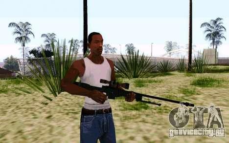 AWP L96А1 (Dodgers) для GTA San Andreas второй скриншот