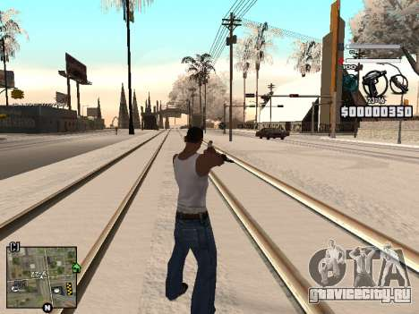 C-HUD Laden для GTA San Andreas третий скриншот