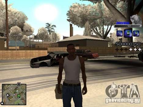 C-HUD Russia для GTA San Andreas пятый скриншот