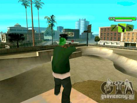C-HUD Greny для GTA San Andreas третий скриншот