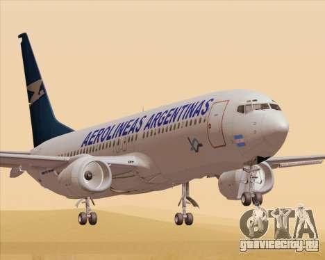 Boeing 737-800 Aerolineas Argentinas для GTA San Andreas