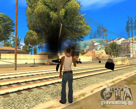 Effect Mod 2014 By Sombo для GTA San Andreas четвёртый скриншот