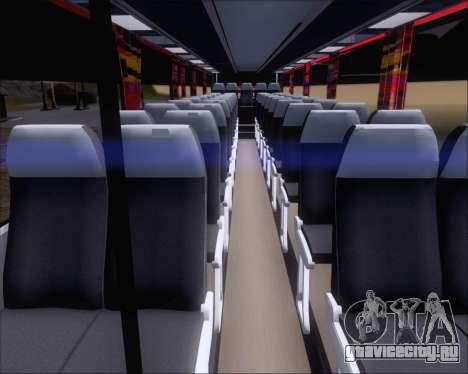 Nissan Diesel UD Santarosa EAGLESTAR 998 для GTA San Andreas вид изнутри