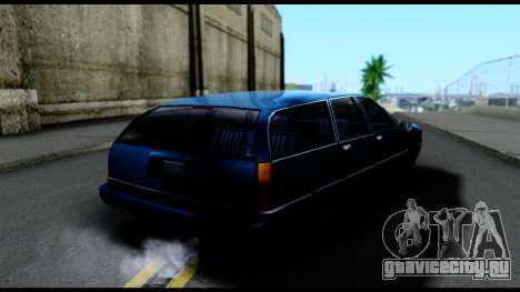 Elegant Station Wagon для GTA San Andreas вид сзади слева