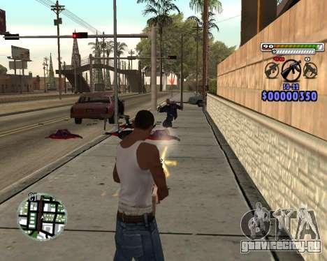 C-HUD by Adam для GTA San Andreas