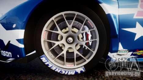 Ferrari 458 GT2 Stevenson Racing для GTA 4 вид сзади