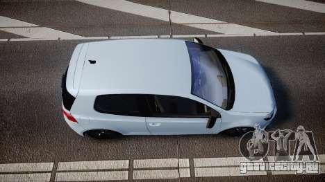 Volkswagen Golf R для GTA 4 вид справа