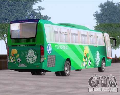 Busscar Vissta Buss LO Palmeiras для GTA San Andreas вид сбоку