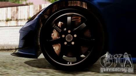 Honda S2000 для GTA San Andreas вид сзади слева