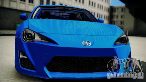 Scion FR-S для GTA San Andreas вид сзади