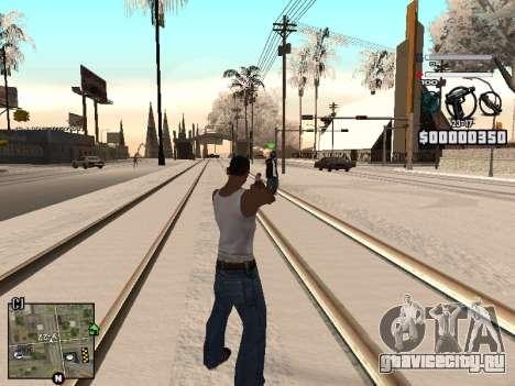 C-HUD Laden для GTA San Andreas второй скриншот