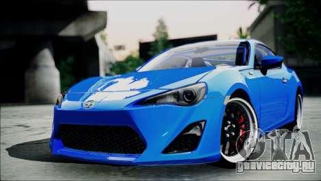 Scion FR-S для GTA San Andreas