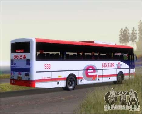 Nissan Diesel UD Santarosa EAGLESTAR 998 для GTA San Andreas вид сзади