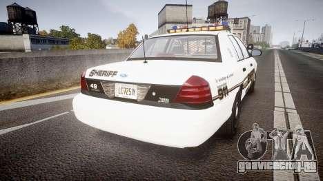 Ford Crown Victoria LCSO [ELS] Vision для GTA 4